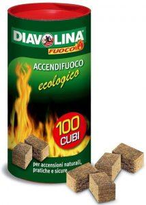 Accendifuoco ecologico Diavolina recensione per barbecue
