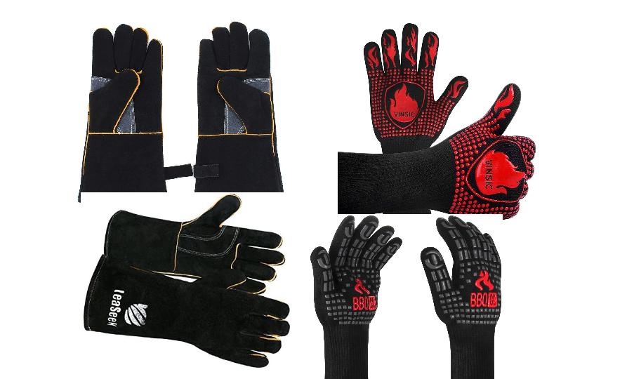 I migliori guanti ignifughi per barbecue e stufa a legna